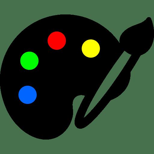 Botão paleta a partir de imagem