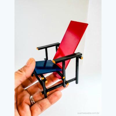 Cadeira Red and Blue